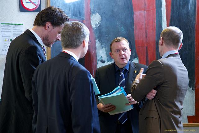 Statsminister Lars Løkke Rasmussen til EU-topmødet.