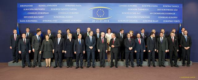 Stat og regeringscheferne til EU-topmødet