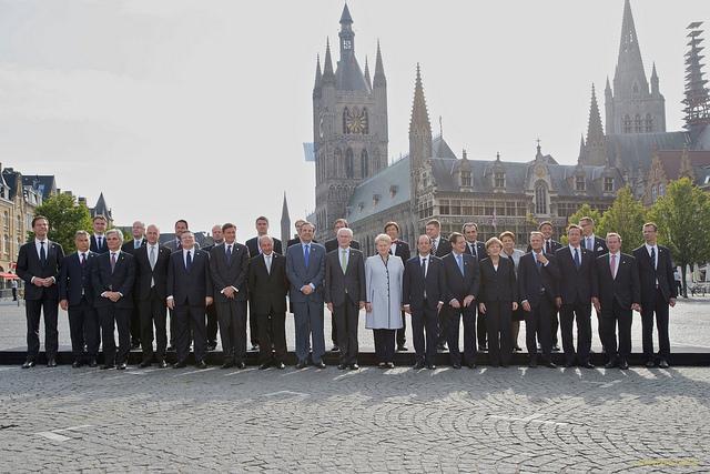 Stats- og regeringschefernes besøg i Ypres den 26 juni 2014