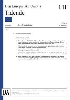 Aftaleteksten til CETA