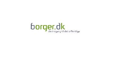 Borger.dk's logo.