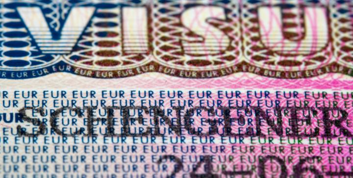 Schengen visum.