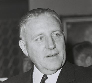 Ophavsmand til Werner-rapporten, tidligere premierminister i Luxembourg Pierre Werner