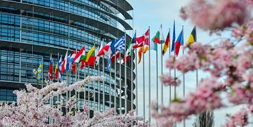 Europa-Parlamentet, Strasbourg Frankrig