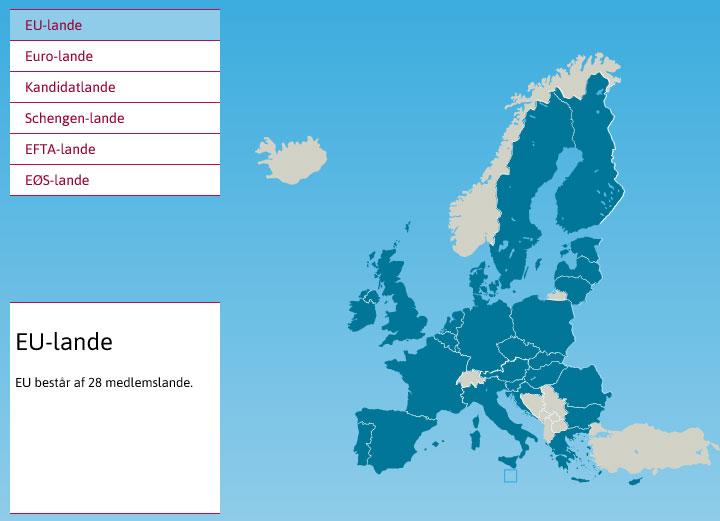 De 28 EU-lande