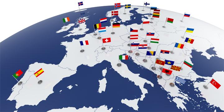 EU har siden starten optaget 22 nye medlemslande, så EU i dag omfatter 28 medlemslande