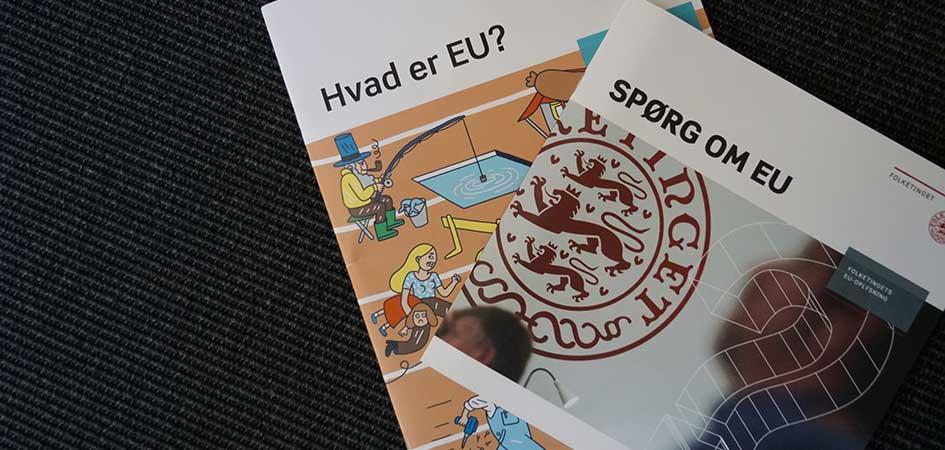 Forside billede - Spørg om EU