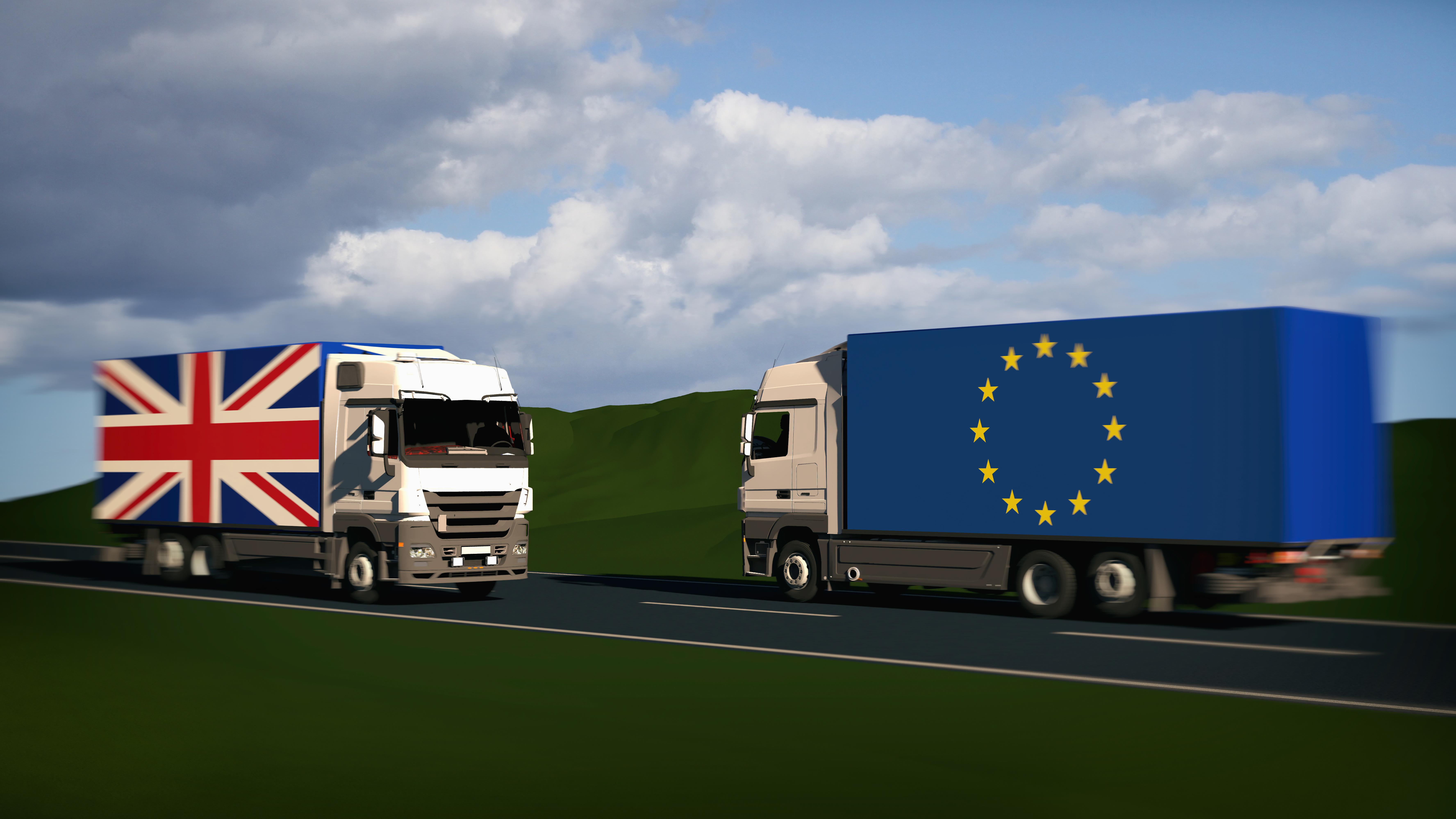 Handel mellem UK og EU