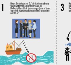 Link: EU-Oplysningens Infografik om EU's fiskekvoter