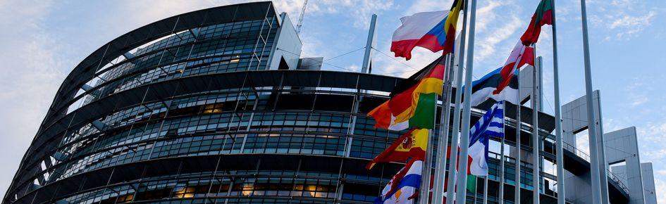 Foto af Europaparlamentet