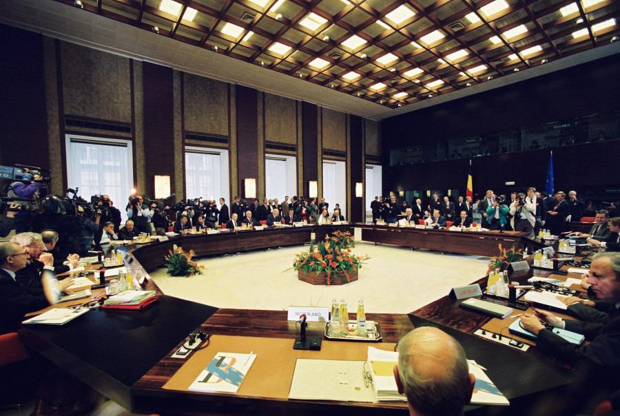EU-topmødet i Bruxelles.