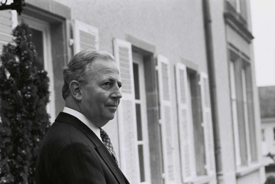 Jacques Santer, formand for Kommissionen.