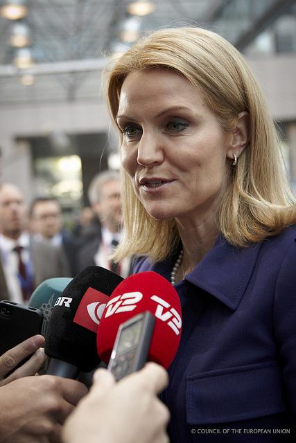 Helle Thorning-Schmidt til EU-topmødet