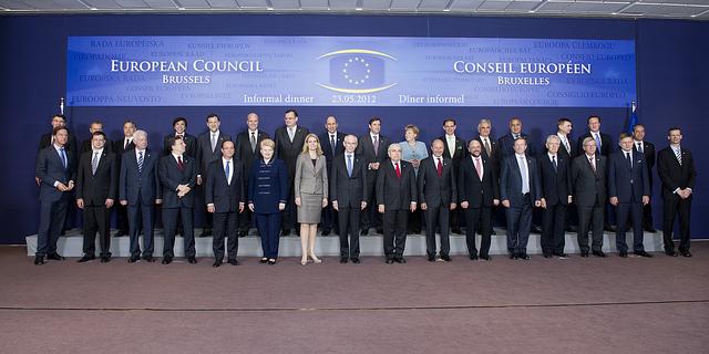 EU-topmødet den 23. maj 2012