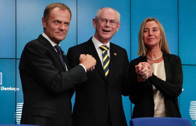 Det Europæiske Råd, 30 august 2014