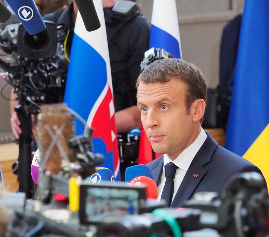 Den nye franske præsident Macron