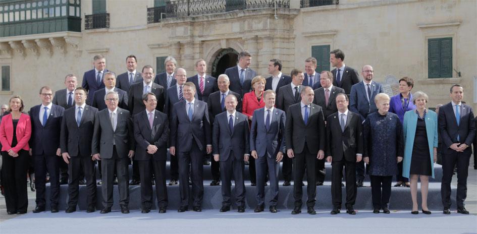 Uformelt EU-topmøde på Malta den 3. februar 2017