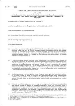 Europolforordning