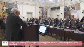 Følgegruppens Brexit-høring den 20. april 2017 på Christiansborg
