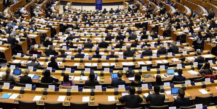 Europa-Parliamentet i Bruxelles. Kilde: Europa-Kommissionen.