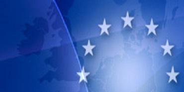 EU kort og flag