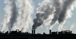 En fabrik der forurener.