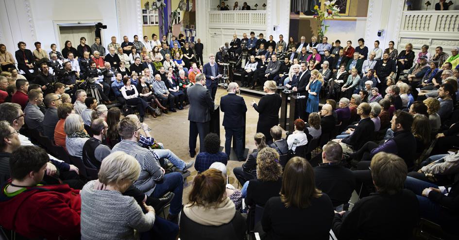Folkehøringen 2017, Landstingssalen Christiansborg