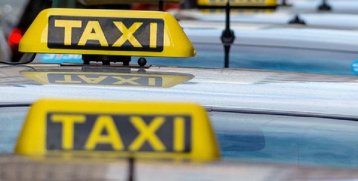 Taxier i kø