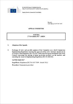 Afstemning i appeludvalget