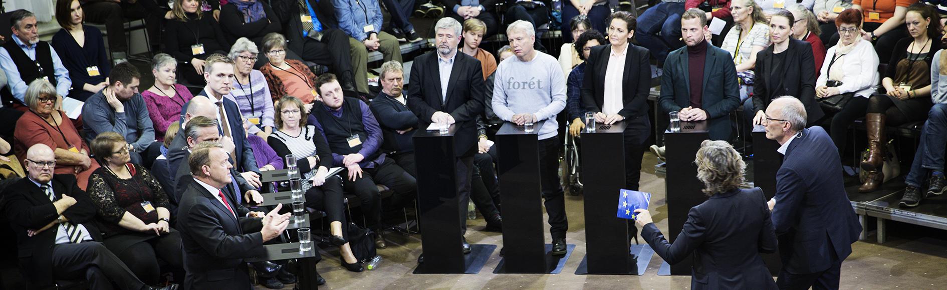Folkehøring om EU - partileder