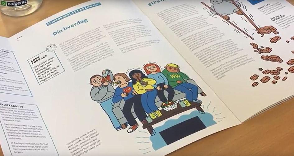 EU-Oplysningens skolehæfte