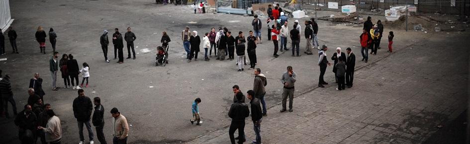 Asylansøgere på gaden