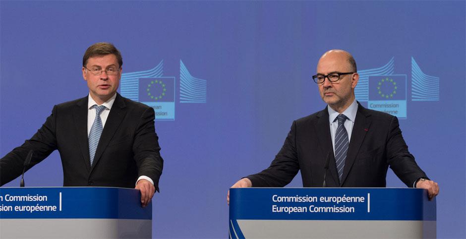 De to ansvarlige EU-kommissærer