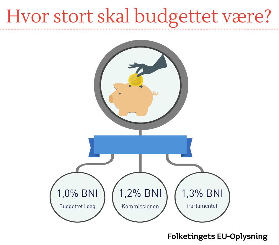 Oversigt over meninger om EU's budgetstørrelse
